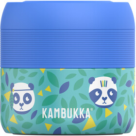 Kambukka Bora Barattolo per alimenti 400ml, blu/turchese